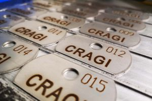 C.R.A.G.I. production of light alloy frames and frames for ABS parts